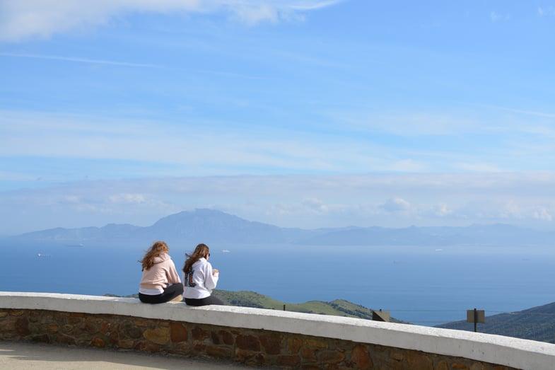 Proctor en Segovia visits the Strait of Gibraltar