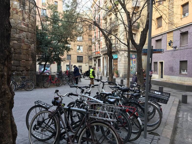 Proctor en Segovia explores Barcelona's gothic quarter