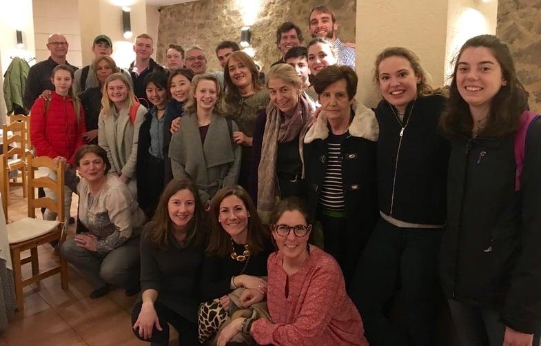 European Art Classroom visits Proctor en Segovia