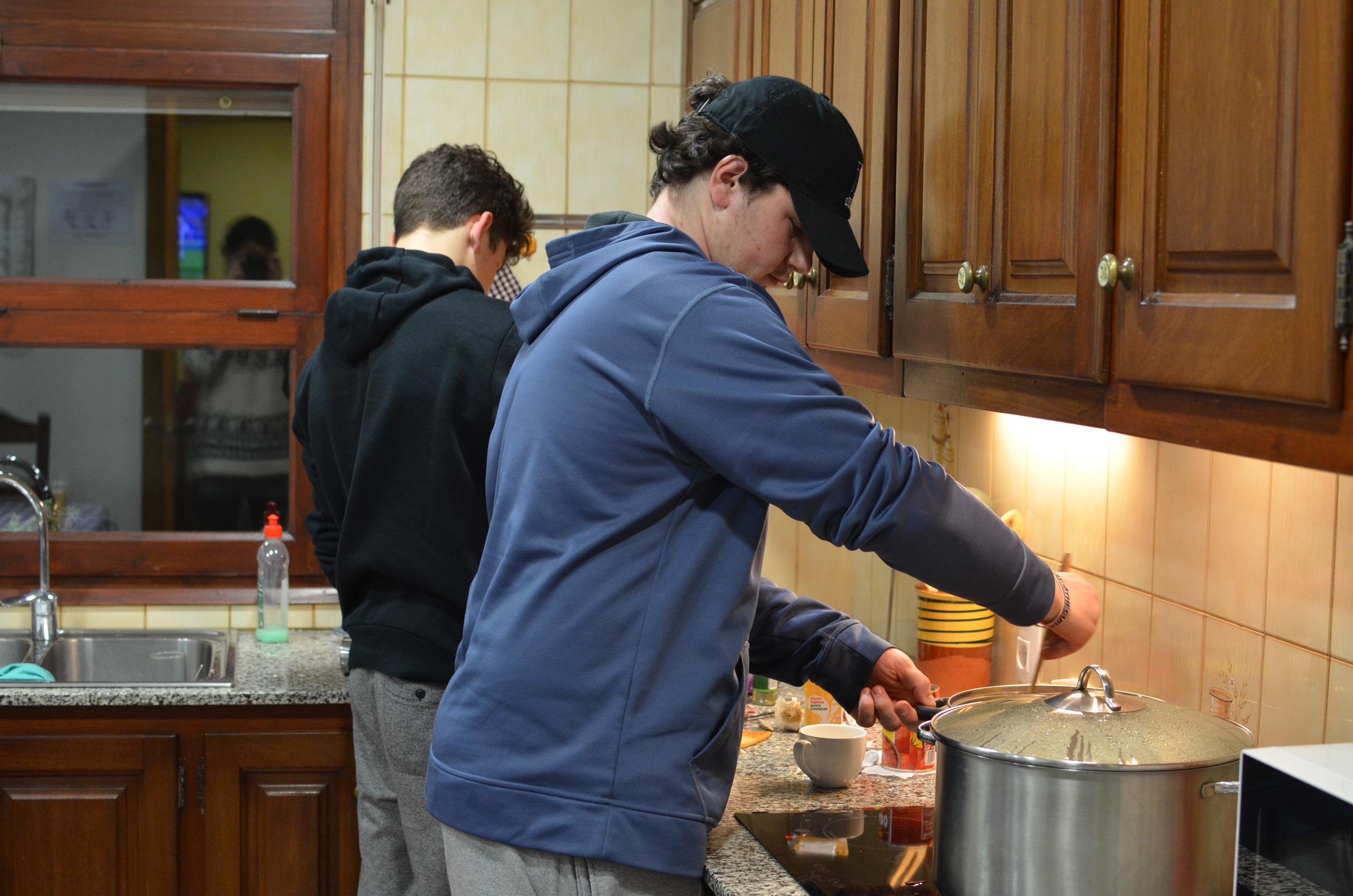 Proctor en Segovia cooks!