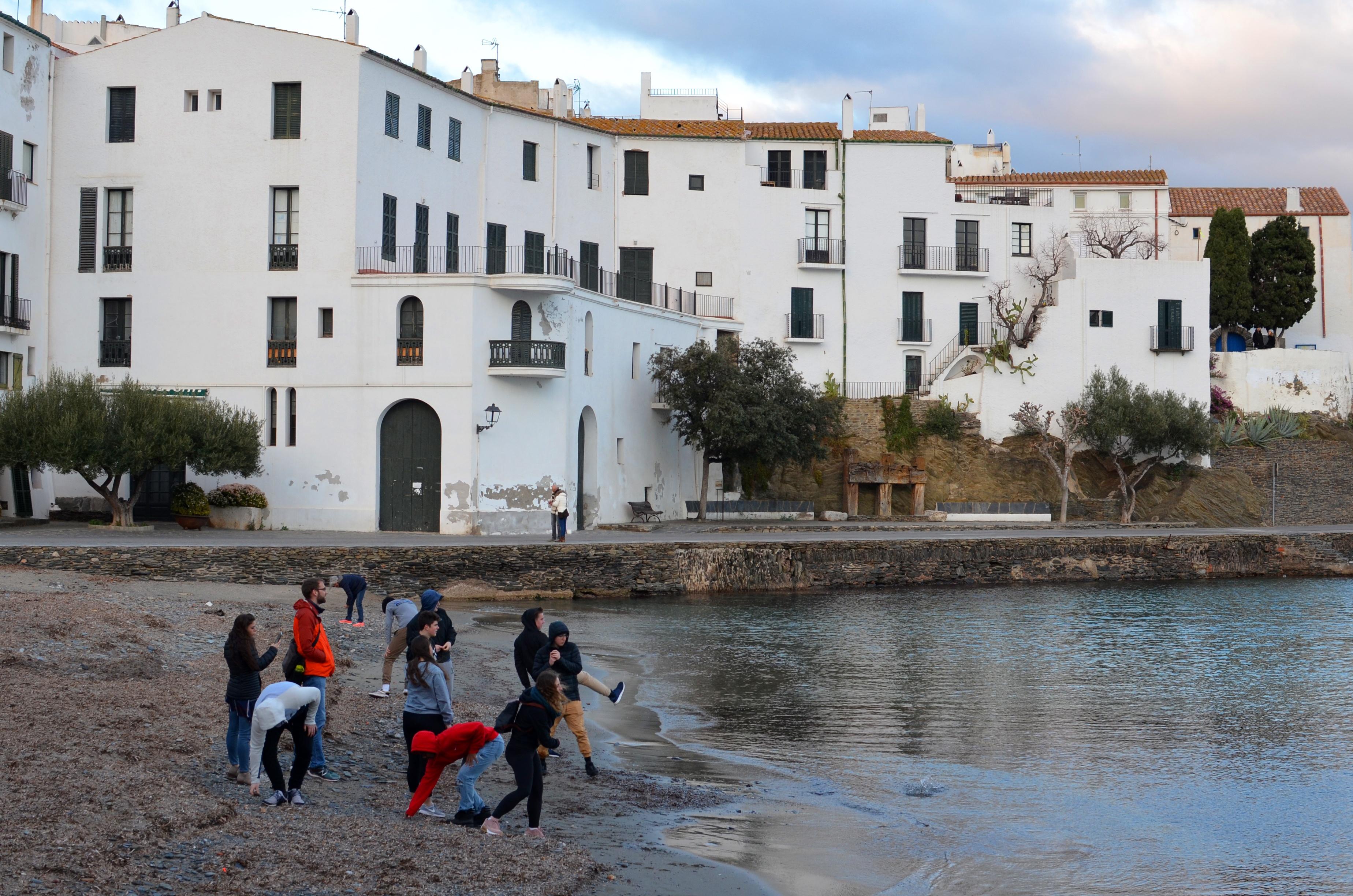 Proctor en Segovia visits the Catalan coast