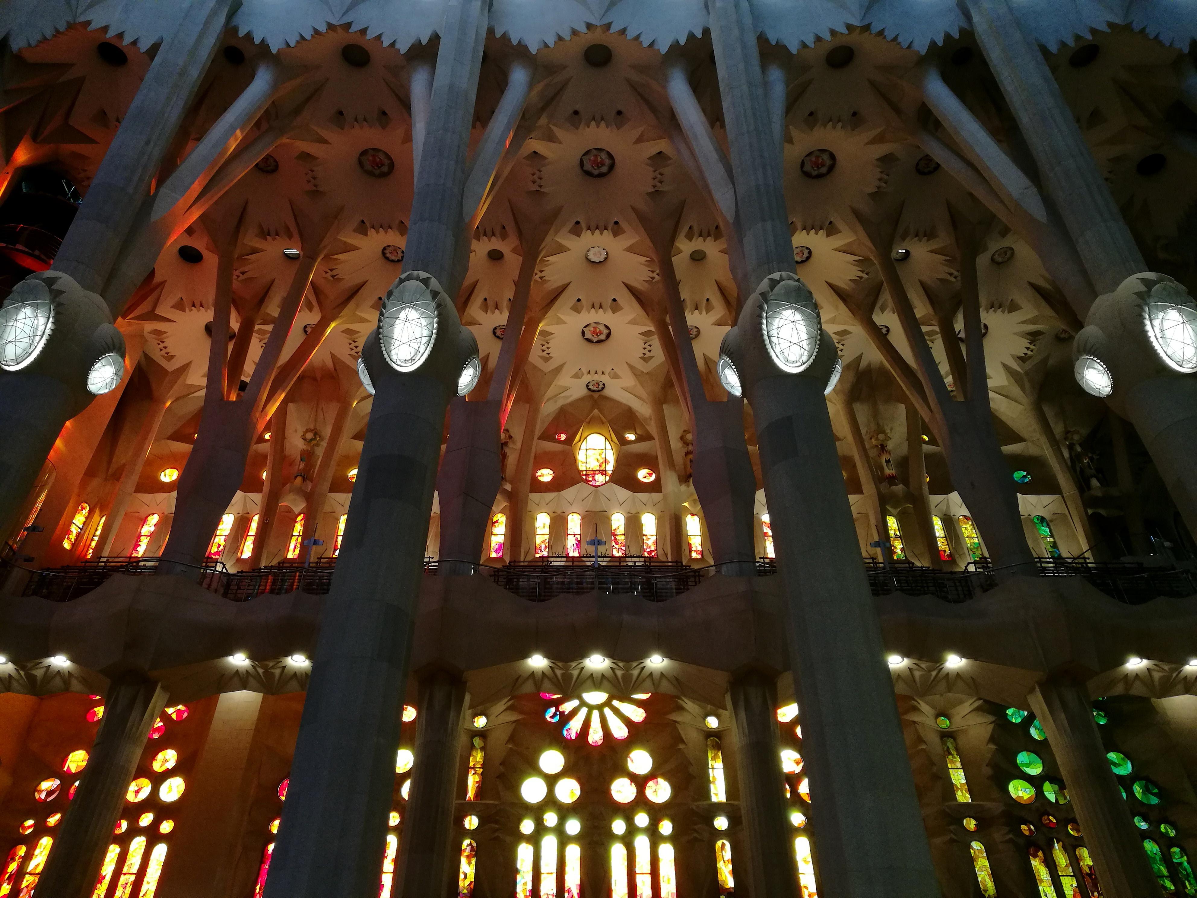 Proctor en Segovia visits the Sagrada Familia