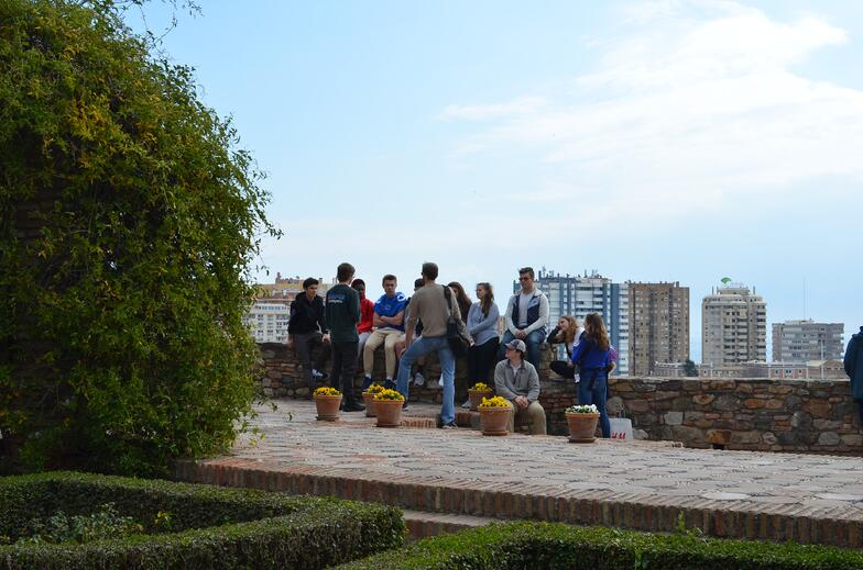 Proctor en Segovia visits the Alcazaba of Málaga