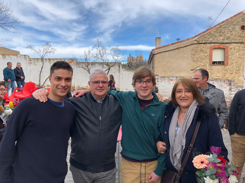 Proctor en Segovia host families
