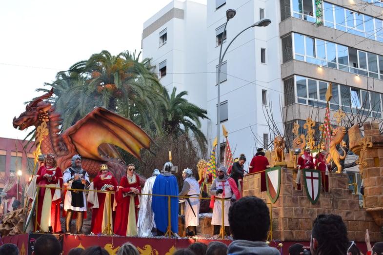 Proctor en Segovia visits Cádiz during Carnaval
