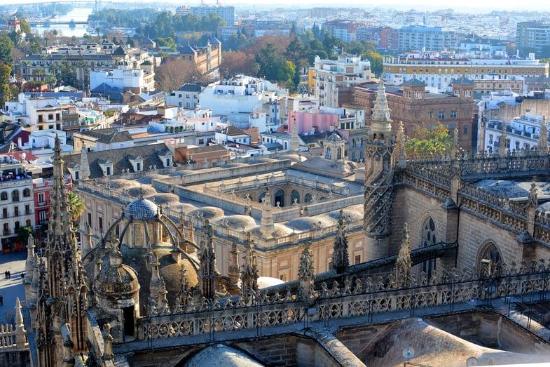 Proctor en Segovia visits the Catedral de Sevilla