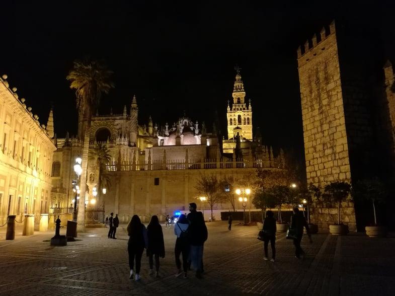 Proctor en Segovia visits Sevilla
